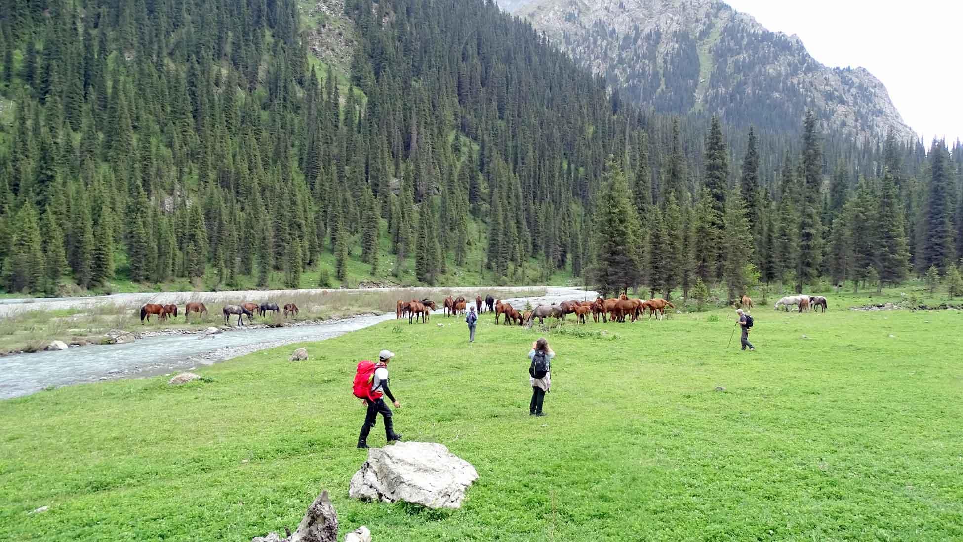 Kırgızistan Yüyürüş Turu Kapak