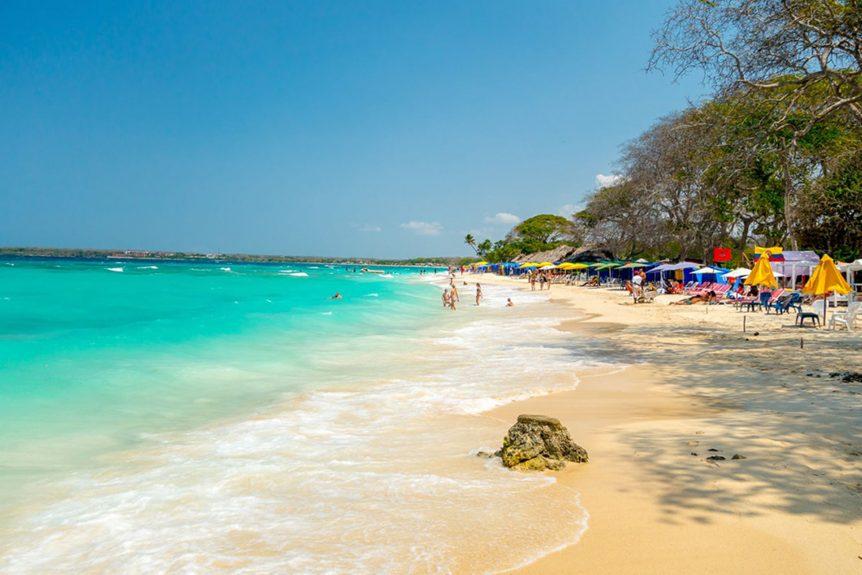Playa Isla Baru 862x575